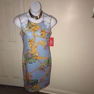 Beautiful scarf print dress